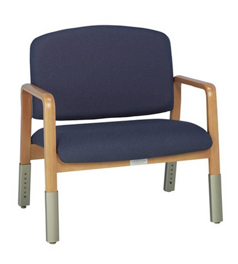 Bariatric Armchairs: ARMCHAIR BARIATRIC (DOHERTY) VARIABLE HEIGHT (CHABLIS