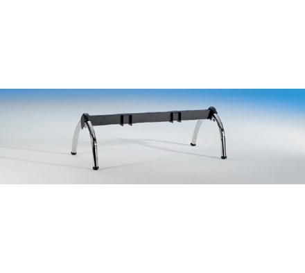 BENCH FRAME BLACK CAT 114CM LONG 2 PLACES