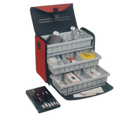 CASE BOLLMANN MEDICUS RED POLYMOUSSE