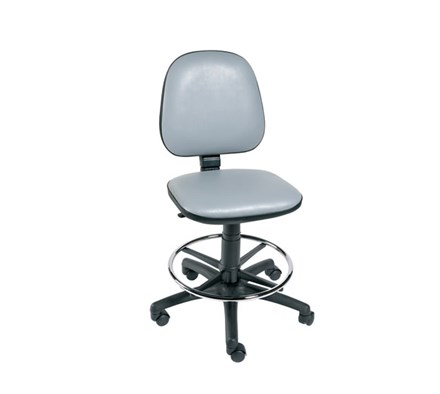 CHAIR OPERATOR (SUNFLOWER) FOOTRING & FIVE CASTOR BASE BEIGE