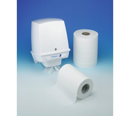 DISPENSER FOR STANDARD CENTRE FEED TOWELS