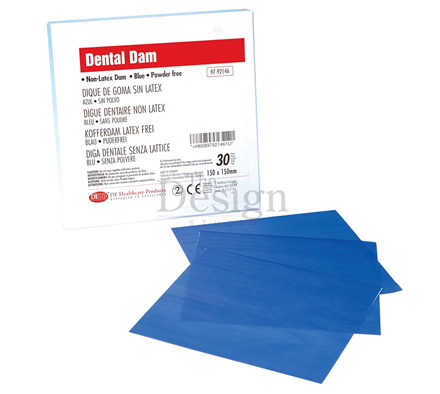 Non Latex Dam 15cm X 15cm X 30 Dehp Dental Supplies