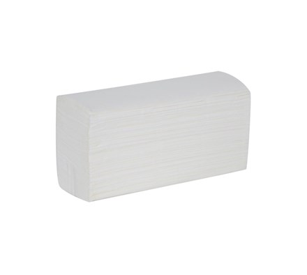 TOWEL HAND Z-FOLD 2PLY 235MM X 240MM WHITE X 3000