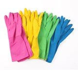Colour Coded Household Gloves