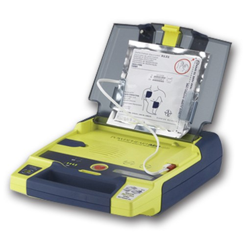 manual defibrillator how to use