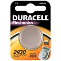 BATTERY DURACELL (COIN TYPE) 3V DL2032/CR2032  X 1