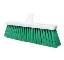"BROOM HEAD SOFT 12"" (GREEN) INTERCHANGABLE (COLOUR CODED)"