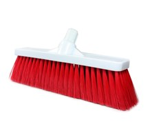 "BROOM HEAD SOFT 12"" (RED) INTERCHANGABLE (COLOUR CODED)"
