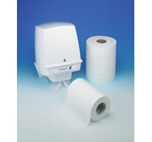 PAPER TOWEL CENTRE FEED STANDARD 2PLY WHITE 6 ROLLS (WC95)