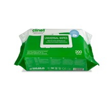 WIPES CLINELL UNIVERSAL EX LARGE PACKET OF 200 X 1