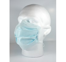 MASK FACE 4 TIE BLUE THE LITE ONE SURGICAL X 50