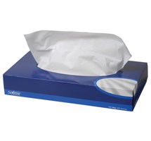 FACIAL TISSUES (MANSIZE) 100 TISSUES X 1 BOX (SINGLE) 2 PLY