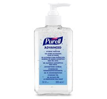 HAND SANITISER GEL X 300ML SINGLE-PUMP DISPENSER (PURELL)