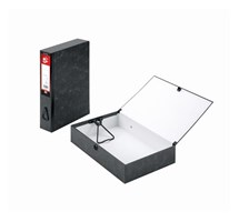 FILE BOX (Q-CONNECT) FOOLSCAP CLOUD GREY X 10
