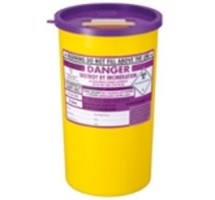 SHARPS BIN+LID 5LTR PURPLE (CYTO)
