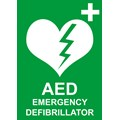 SIGN - LAMINATED DEFIBRILLATOR A4