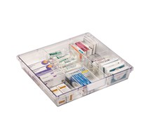 TRAY DIVIDER (SUNFLOWER) WIDE SINGLE DEPTH VISTA TROLLEY