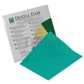 "RUBBER DAM MEDIUM GREEN 6"" X 6"" X 36 (HYGENIC)"