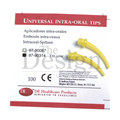 INTRA-ORAL TIPS S50 YELLOW X 100 (DEHP)