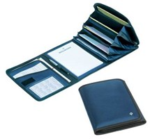 DOCUMENT FOLDER BOLLMANN BLUE SMALL