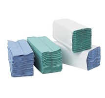 PAPER TOWEL C/FOLD BLUE 1 PLY X 2880