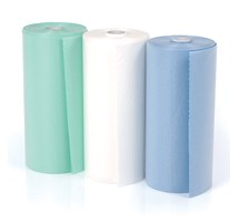 BIB DISPOSABLE (UNODENT) 2PLY (50 X 60CM) BLUE ROLL X 80