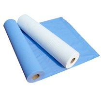 "COUCH / BED ROLL 2 PLY BLUE 20"" X 12 100 SHEET"