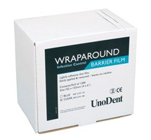 BARRIER FILM ROLL CLEAR (UNODENT) WRAPAROUND X 1200