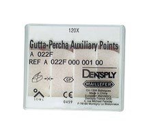 GUTTA PERCHA POINTS (MAILLEFER) AUXILIARY SIZE B X 120