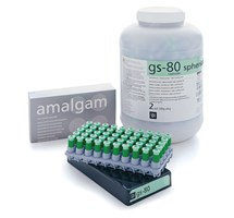 AMALGAM CAPSULES (SDI) GS-80 SPHERICAL 1 SPILL REGULAR SET X 500