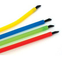 MICRO APPLICATION BRUSHES (UNODENT) BENDABLE ASSORTED X 144 (RED, YELLOW, BLUE & GREEN)