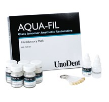 GLASS IONOMER AQUA-FIL (UNODENT) INTRO KIT