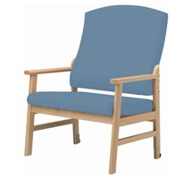 ARMCHAIR BARIATRIC (DOHERTY) FIXED HEIGHT (HYACINTH)