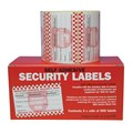 SECURITY LABELS (A/PHARMACY) SELF ADHESIVE 2 X 500