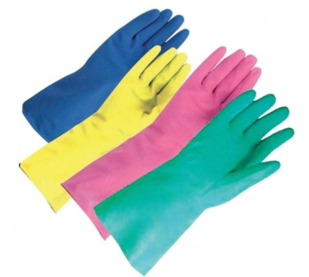 Glove Household Blue Small Latex 6 6 1 2 X 1 Pair
