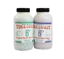 MOUTHWASH TABLETS MINT GREEN (TELLODONT) X 1000