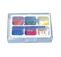 WEDGE INTERDENTAL (KERR) SYCAMORE ASSORTED PACK X 100