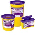 SHARPS BIN+LID 1LTR PURPLE (CYTO)