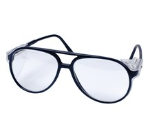 SPECTACLES PROTECTIVE (PROSPECS) UNISEX BLUE FRAME/CLEAR LENSES  X 1 PAIR