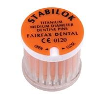 PINS STABILOK (FAIRFAX DENTAL) TITANIUM SMALL ORANGE X 20